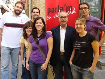 Presentació de la campanya «Parla'm en valencià» a la demarcació d'Alacant. /  ARXIU