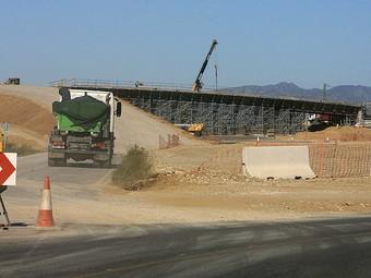 Les obres de la carretera C-31 de la Tallada d'Empordà a Torroella de Fluvià va a molt bon ritme i podria estar acabada abans del termini previst.  MANEL LLADÓ
