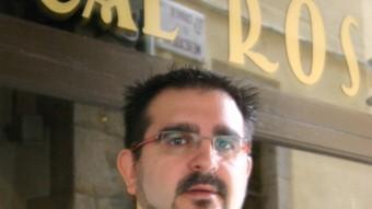 Jordi Ribas, gerent del restaurant Cal Ros.  M.B