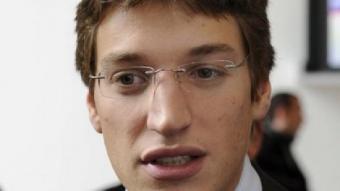 Jean, el fill de Nicolas Sarkozy. EFE