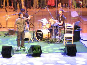 Un moment del concert a l'auditori aquest dijous 22 d'octubre.    E. ROSANAS