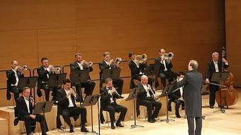 Una imatge del concert. MANEL LLADÓ