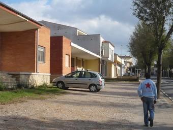 L'entrada de Torroella per verges, ahir al migdia./  A.V