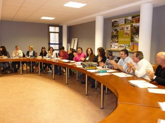 El Centre d'Estudis celebra reunions sovint i planteja temes d'actualitat. /  ESCORCOLL