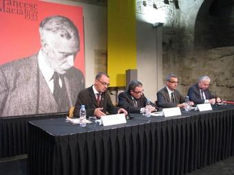 L'acte institucional de commemoració de la caiguda de Lleida s'ha dedicat enguany a la figura de Francesc Macià.