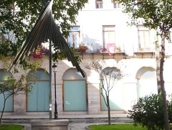 Façana posterior de l'Ajuntament de Gandia. /  ESCORCOLL