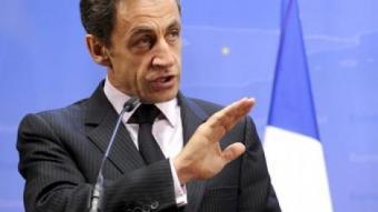 El president francès, Nicolas Sarkozy. EFE