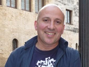 L'autor, a Vilafranca del Penedès, municipi on viu.  R.M