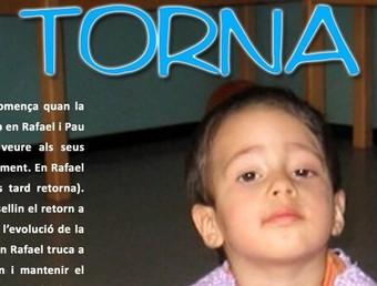 La imatge de la campanya de l'Ajuntament de Riells i Viabrea amb la imatge del Pau.