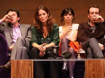 Els principals actors de l'obra «Un dios salvaje» de Trasgo Producciones. /  ARXIU