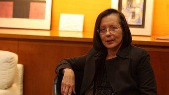 Montserrat Tura en una entrevista recent ORIOL DURAN