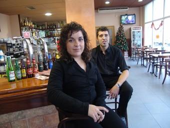 L'Anna Roig i el Jordi Peña, del bar Totti, de Valls, han usat el pla «Inicia».  A. ESTALLO