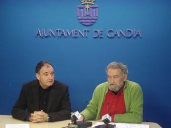 Antoni Dura i Llorenç Barber expliquen el contingut del concert. /  CEDIDA