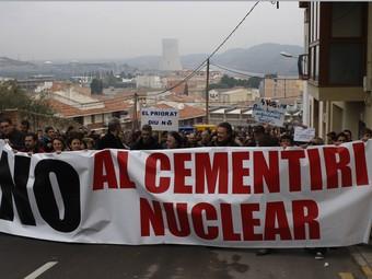 La CANC espera superar les xifres de la manifestació d'Ascó. TJERK VAN DER MEULEN