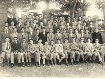 Alumnes de l'Escola Industrial de Terrassa.