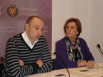 Xavier Trenco i Maria Gracia Molés. /  EL PUNT