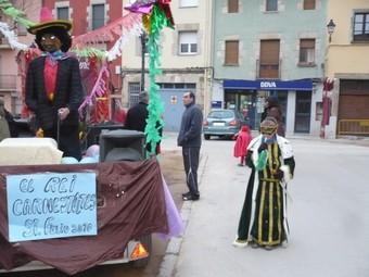 La carrossa amb el Rei Carnestoltes. J.C.