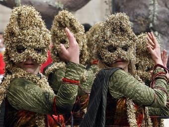 Part de la pompa d'edicions anteriors de la festa d'hivern. /  ARXIU