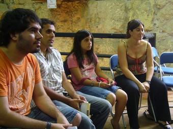 Participants de cursos similars arreu l'àmbit lingüístic. / ARXIU.