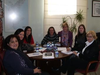 Reunió mantinguda a València per les components de l'associació. /  CEDIDA