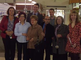 Premiats a la campanya de cuina de mercat organitzada a Oliva. /  CEDIDA