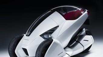 La imatge d'aquest vehicle és asbolutament futurista.