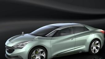 Aquest cotxe de concepte de Hyundai anticipa un futur model de la marca coreana pel segment D.