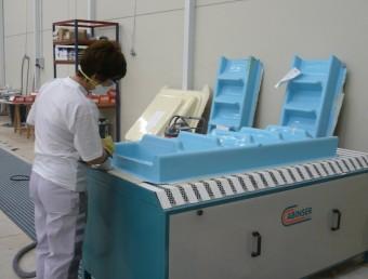 El centre tecnològic s'instal·larà al costat de l'empresa Lamicat, que treballa en materials compostos. L.M