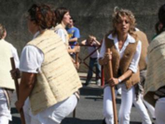 Una actuació dels Pastorets del Riberal.  AIRE NOU