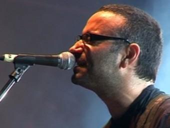 El líder d'Obrint Pas, Xavi Sarrià. /  EL PUNT