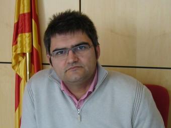 Jordi Arnall, al despatx del nou ajuntament.  M.V