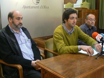 Acte de presentació del torneig de bàsquet d'Oliva. /  CEDIDA