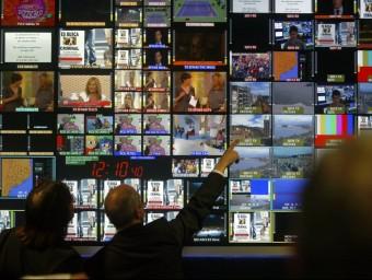 El negoci de la gestió de la informació i les comunicacions està en fase creixent a escala mundial però Catalunya no progressa al mateix ritme.  JUANMA RAMOS