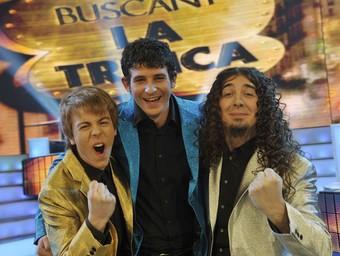 En Dídac, de Cardona; en Marc, de Berga i en David, de Ripoll són la nova Trinca. TV3