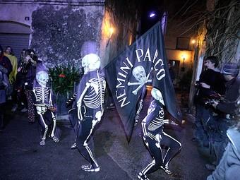 Un moment de la dansa de la mort. ACN / FOTO: M.LLADÓ
