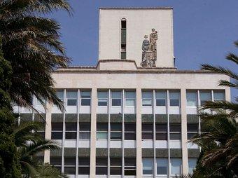 L'exterior de l'Hospital Joan XXIII