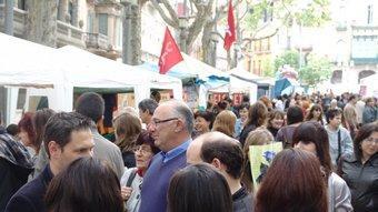 Una imatge de la Rambla de Figueres, ahir a mitja tarda.  J.P
