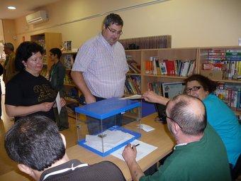 Votacions a Sant Iscle de Vallalta T.M