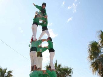 Els Castellers del Riberal. E. C