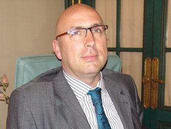 Ferran Roquer , alcalde de Borrassà. JOSEP PUIGBERT