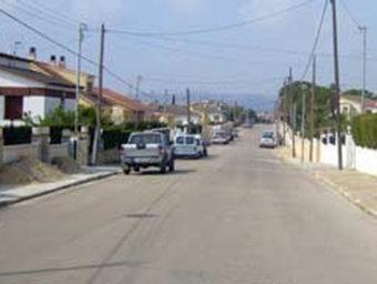 La urbanització del Papagai es troba entre els termes de la Bisbal i Sant Jaume. /  EL PUNT