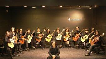 Orquestra de Guitarres del Conservatori de Girona.  CMIADG