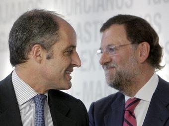 Camps i Rajoy junts en una imatge d'arxiu. EFE