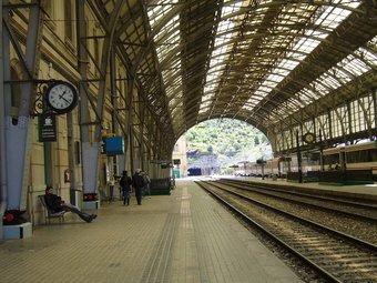 Estació de tren de Portbou MAR VICENTE