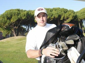Pol Bech, en l'Empordà Golf.  E. PICAS