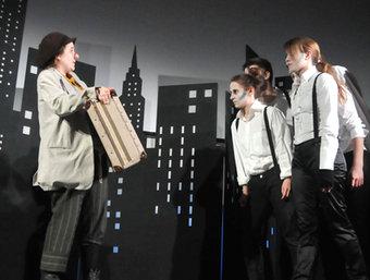 Una escena de l'espectacle que es podrà veure dimecres a Toluges.  4X4