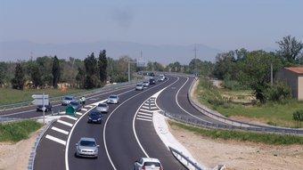La carretera C-31 entre l'Alt i el Baix Empordà ha sigut de les més polèmiques de la legislatura. O.M