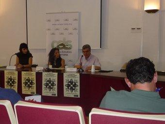 Soud El Hadri ha intervingut, com a mediadora intercultural a la Jornada de Villar. /  ESCORCOLL