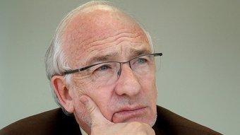 L'expresident de la Fundació Príncep de Girona i expresident de Caixa Girona, Arcadi Calzada. JORDI SOLER