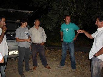 Els pagesos de Mont-roig van ser uns dels que van iniciar divendres les patrulles de nit.  ACN